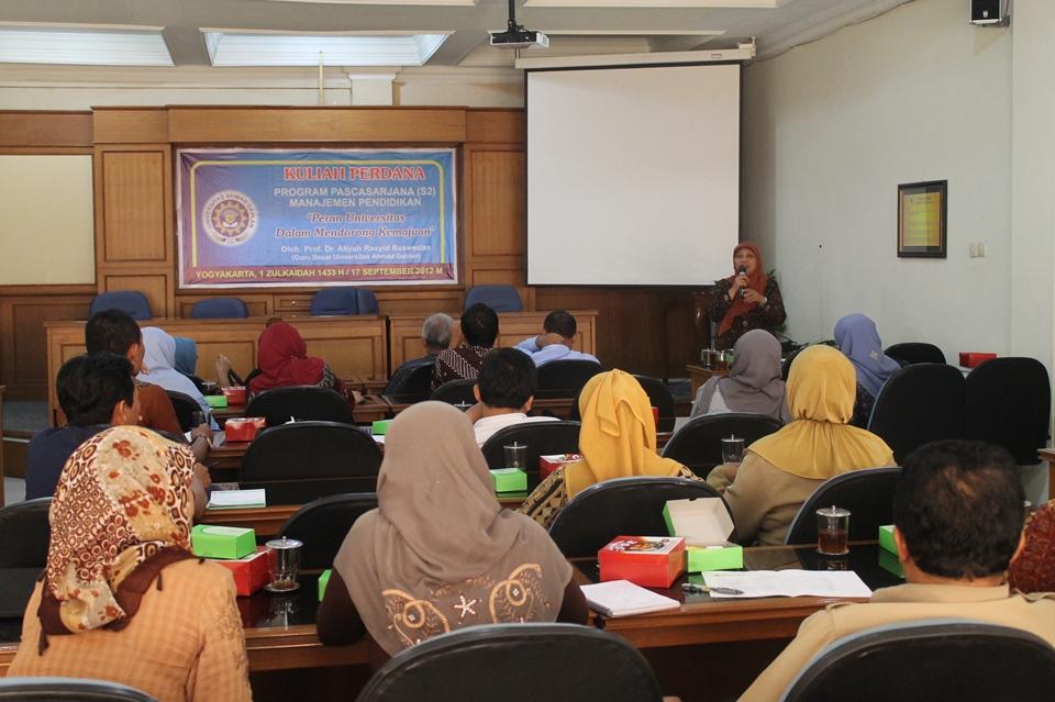 Kuliah Perdana Gasal 2012/2013