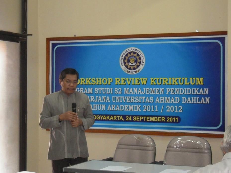 Workshop Kurikulum 2011