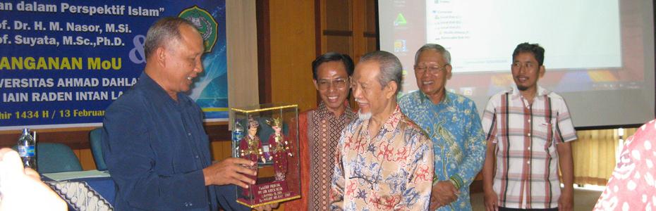 Kerjasama Dengan IAIN Raden Intan Lampung