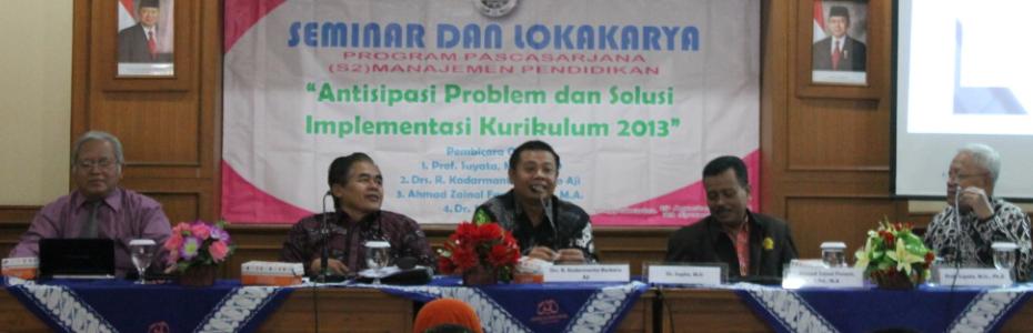 Seminar dan Lokakarya Kurikulum 2013