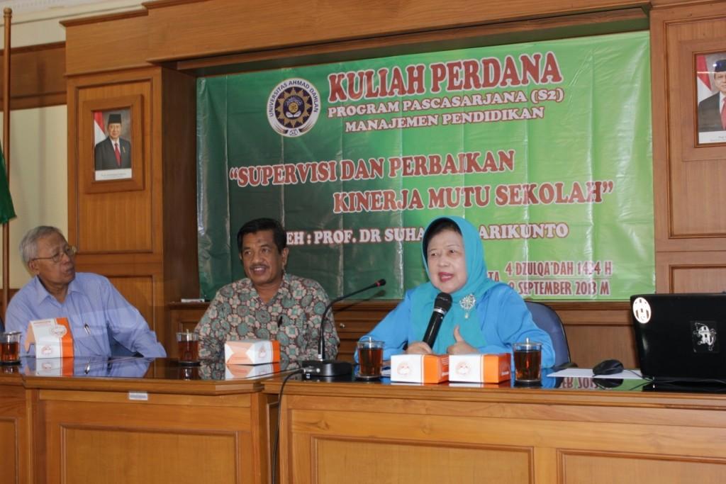 Kuliah Perdana Gasal 2013/2014
