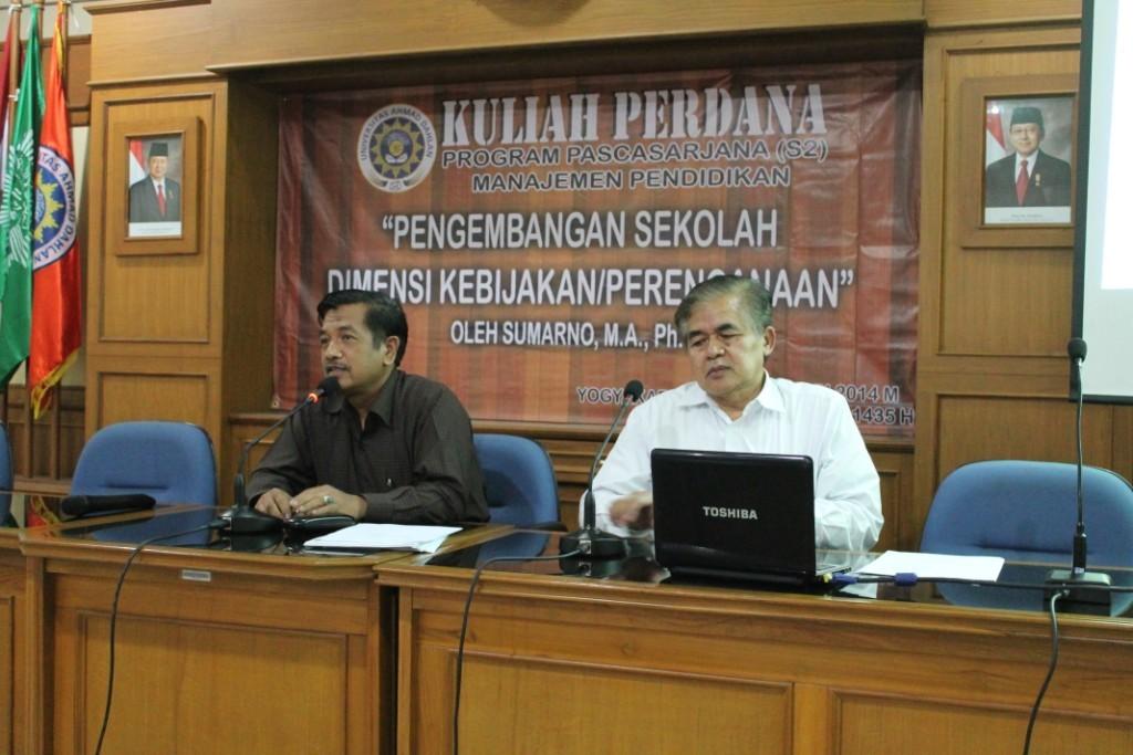Kuliah Perdana Genap 2013/2014