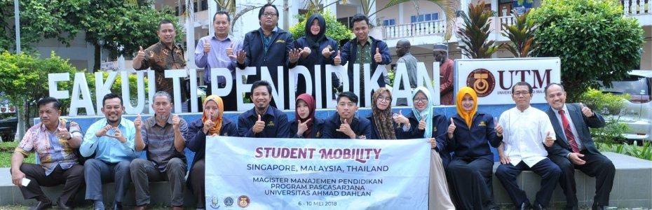 Student Mobility ke University Teknologi Malaysia
